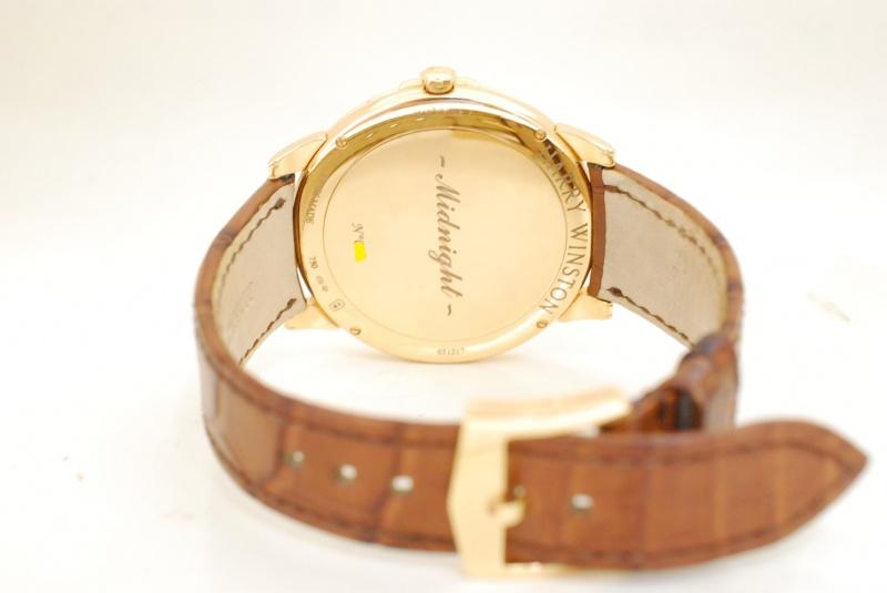 ハリーウィンストン ミッドナイト時計を高価買取。高級時計をまじめに査定します。創業71年『質はしもと(有)橋本質店』