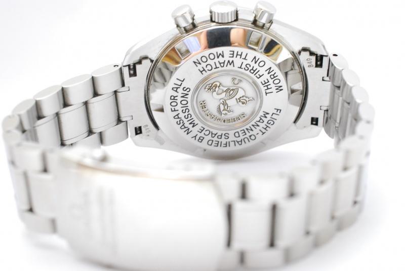 オメガ スピードマスター マークⅡ 3570-40 舶来人気機械時計の高価買取鑑定もお任せください。くずはモールそば『質はしもと(有)橋本質店』
