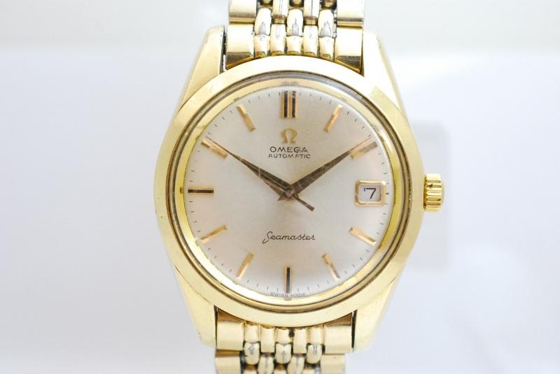 OMEGA 古いオメガの時計もまじめに鑑定いたします。樟葉駅前で高価買取リサイクル『質はしもと(有)橋本質店』