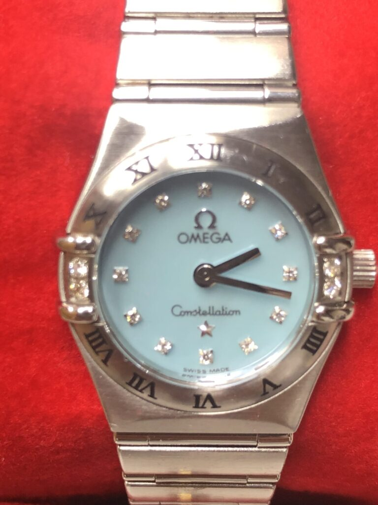 女性用のオメガ時計も高価買取させて頂きます。枚方市樟葉駅前でリサイクル『質はしもと(有)橋本質店』